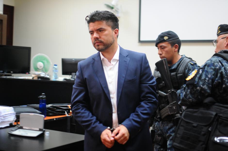 Jonathan Chévez es el presunto lavador del exbinomio presidencial. (Foto: Alejandro Balán/Soy502)