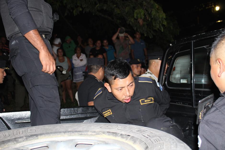 José Lino Velásquez Ortiz, es otro de los agentes detenidos. (Foto: Joaquín Álvarez/Nuestro Diario)