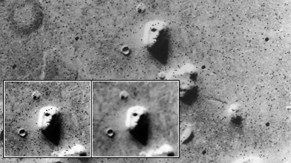 Hace 40 años se descubrió el supuesto rostro humano en Marte. (Foto: actualidad.rt.com)