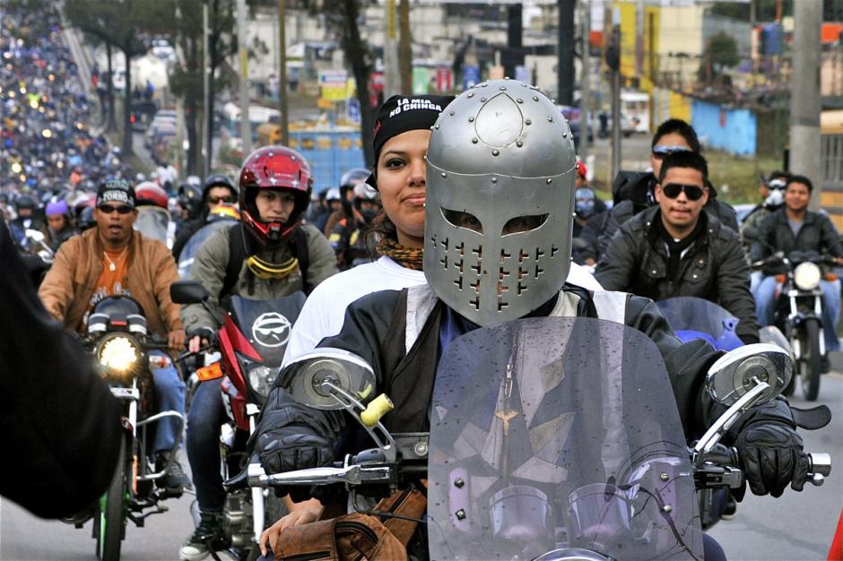 Un caballero que quiso recordar a las cruzadas en la peregrinación. (Foto: Deccio Serrano).