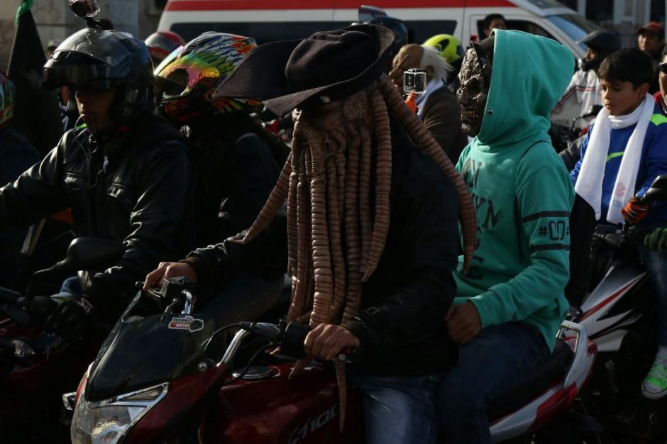 Se esperan que participen entre 15 y 20 mil motoristas en esta edición.  (Foto: Alejandro Balán/Soy502)