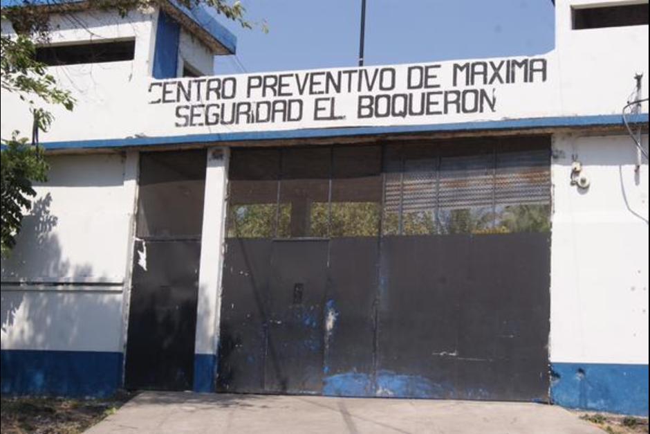 El reo rescatado ingresó a la prisión de El Boquerón el 16 de junio. (Foto: Archivo/Soy502)