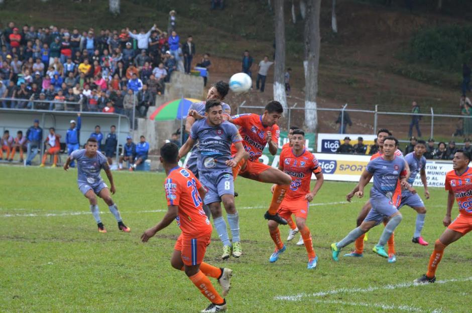 Carchá derrotó 2-0 a Suchitepéquez la tarde del domingo. (Foto: Nuestro Diario)