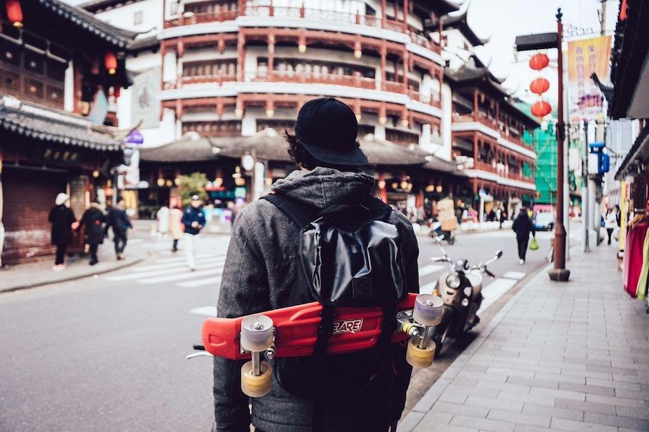 La ciudad china de Shenzhen fue parte de su itinerario. (Foto: Carl Nunes)