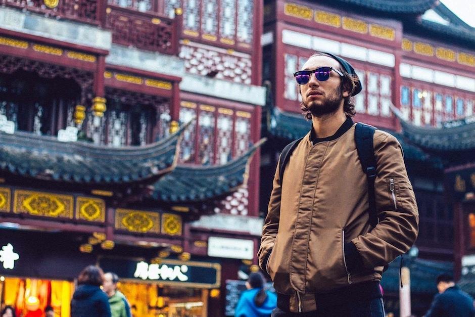 Shangai fue una de las paradas obligadas de Nunes. (Foto: Carl Nunes)