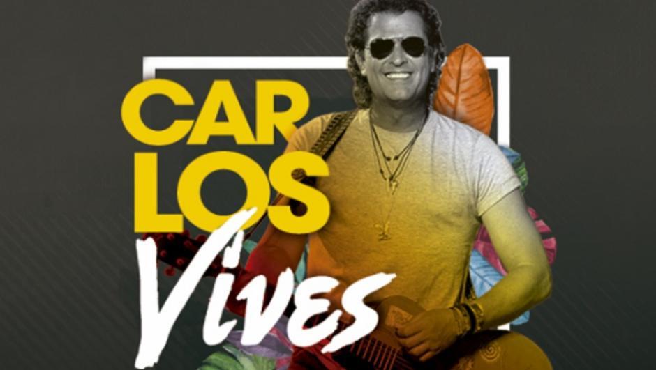 Carlos Vives le pondrá sabor colombiano al fin de semana. (Foto: Todoticket)