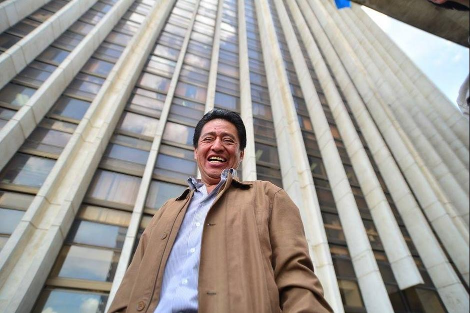 El exministro de Cultura y Deportes, Carlos Batzín, se encuentra ligado a un proceso penal por anomalías en la contratación de juegos mecánicos. (Foto: Archivo/Soy502)