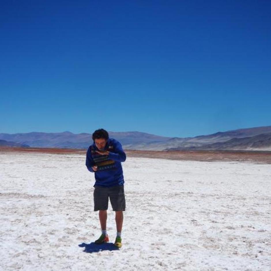 Carlos Calderón es ingeniero ambiental. (Foto: Carlos Calderón)