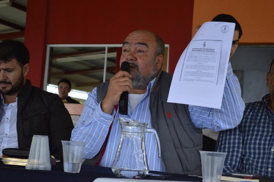 Las autoridades municipales dieron a conocer el reglamento a la sociedad civil. (Foto: Marlon Villeda/Nuestro Diario)