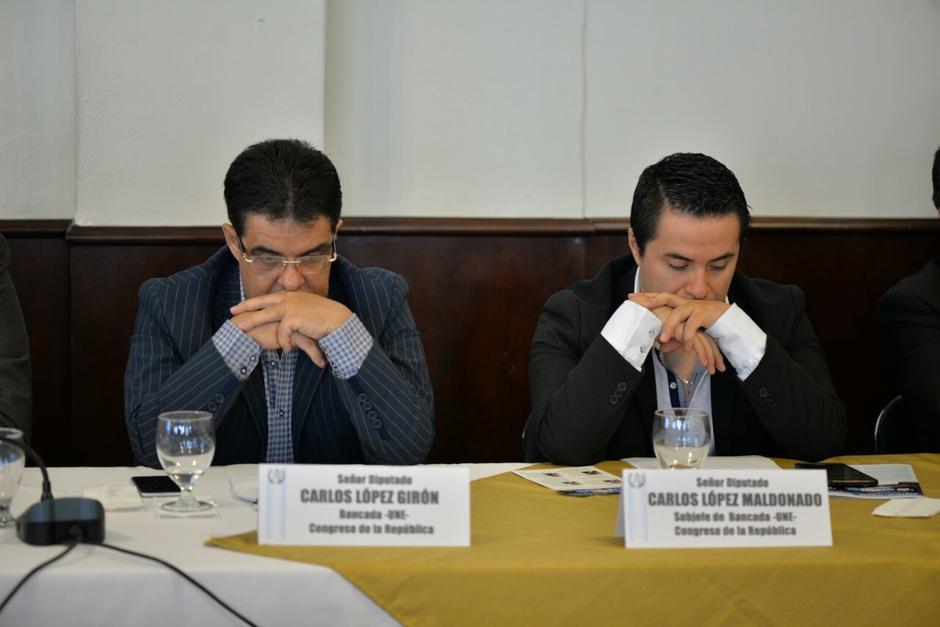 El diputado Carlos López enfrenta un proceso de antejuicio. (Foto: Wilder López/Soy502)