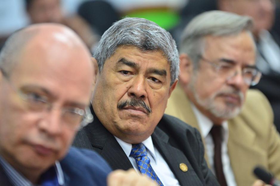 """El Contralor dice haber sido """"fusilado"""" luego de que el juez Miguel Ángel Gálvez lo mencionara. (Foto: Jesús Alfonso/Soy502)"""