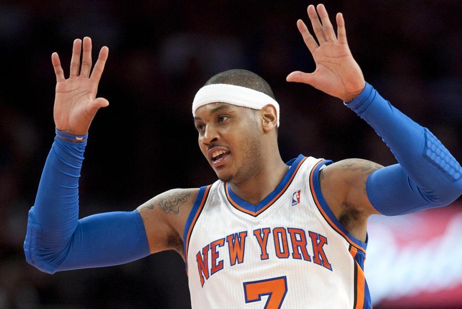 Carmelo Anthony, Knicks, Nueva York, NBA