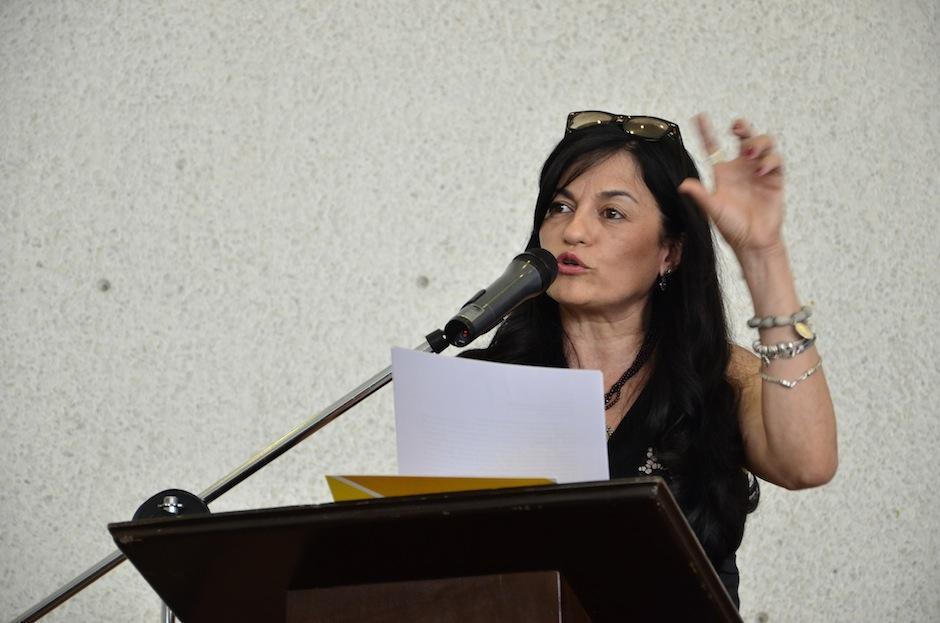 Carolina Escobar Sarti compartirá su trabajo. (Foto: Selene Mejía/Soy502)