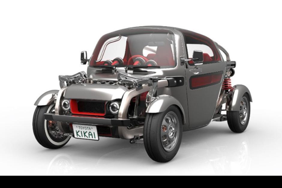 El concepto de Toyota Kikai es un auto clásico elemental que las partes mecánicas del auto sean dignas de ser vistas y admiradas. (Foto: Toyota)