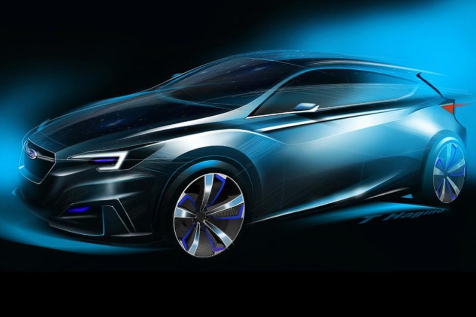 Subaru Impreza, el nuevo auto tendrá la apariencia de un hatchback deportivo de cinco puertas. (Foto: Subaru)