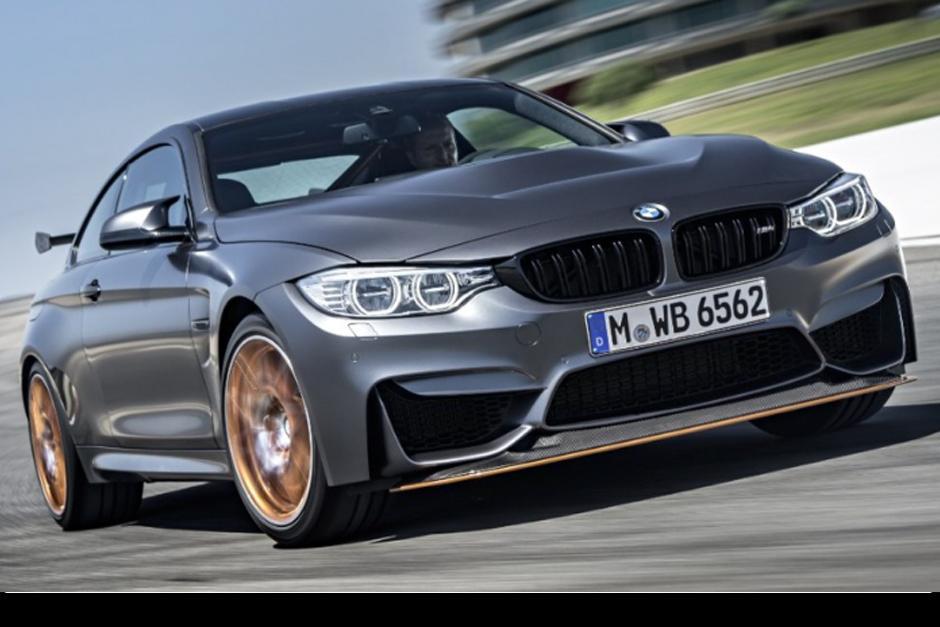BMW M4 GTS será el carro de calle más rápido de la historia. (Foto: BMW)