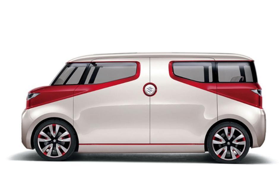Suzuki Air Triser es una minvan compacta de tres filas. (Foto: Suzuki)