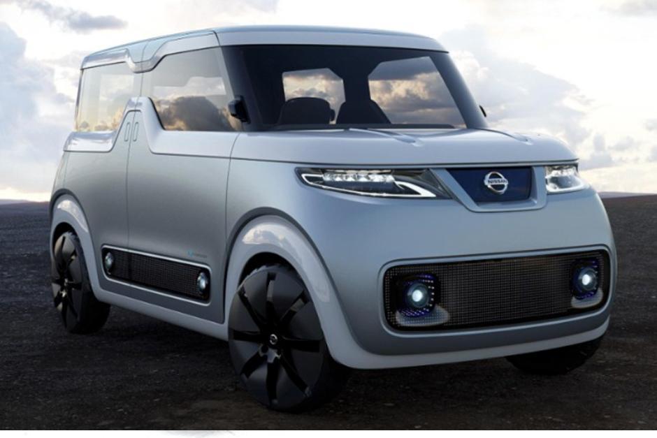 Nissan Teatro for Dayz, es el primer auto diseñado específicamente para la generación digital. (foto: Nissan)