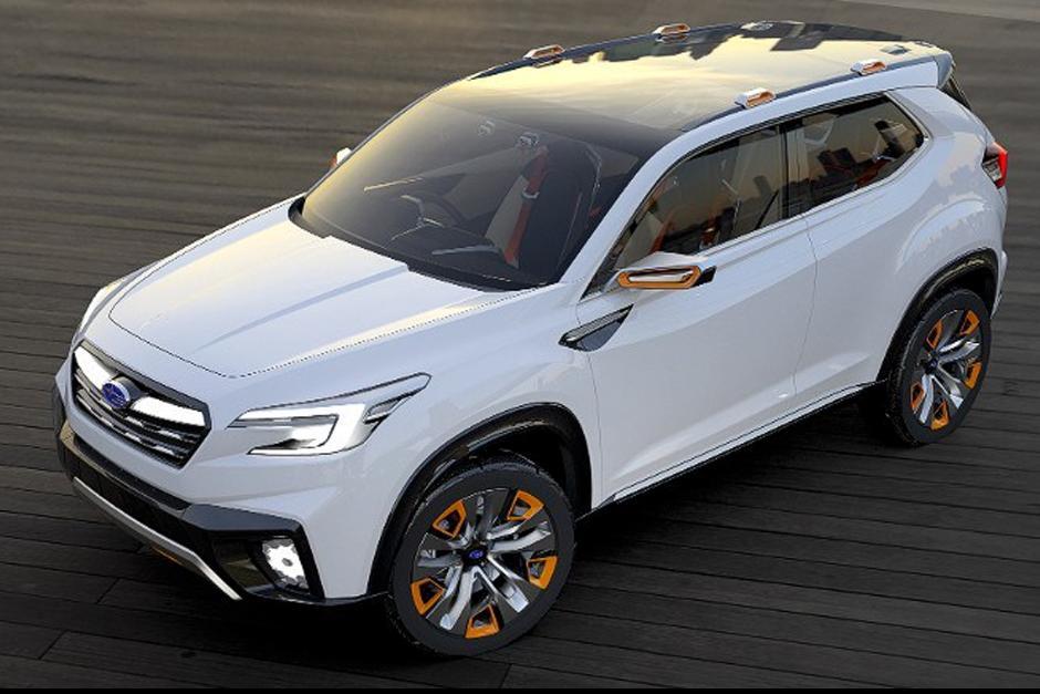Subaru Viziv, la camioneta deportiva con prototipo híbrido que funciona con diésel. (Foto: Subaru)