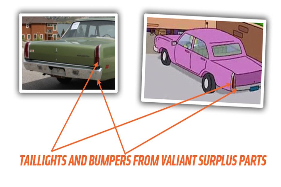 Las luces direccionales son similares entre ambos vehículos. (Imagen: Jalopnik)