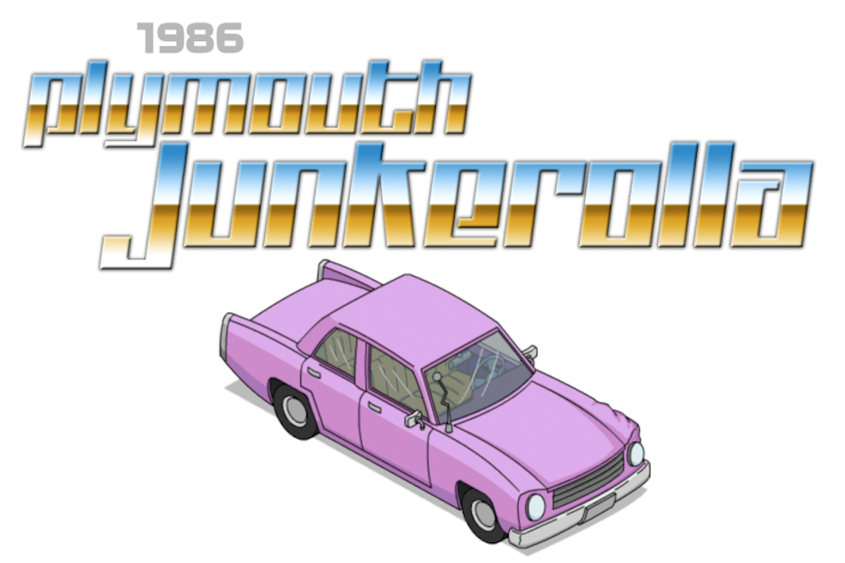 Homero conduce un Plymouth Junkerolla de 1986. (Imagen: Jalopnik)