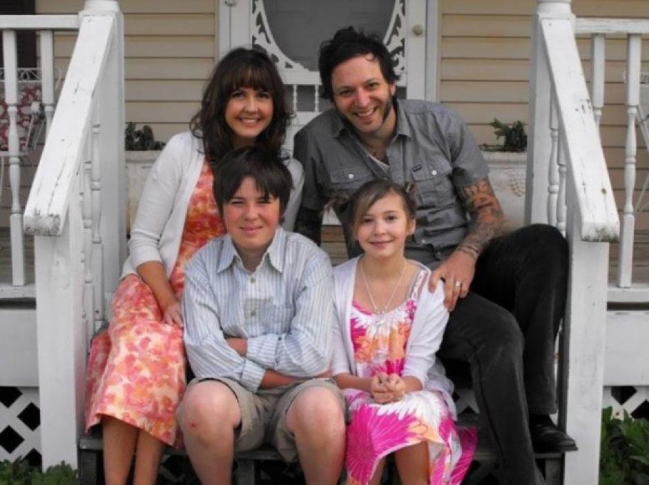 La familia Smith antes que falleciera la menor de 12 años. (Foto: TKM)