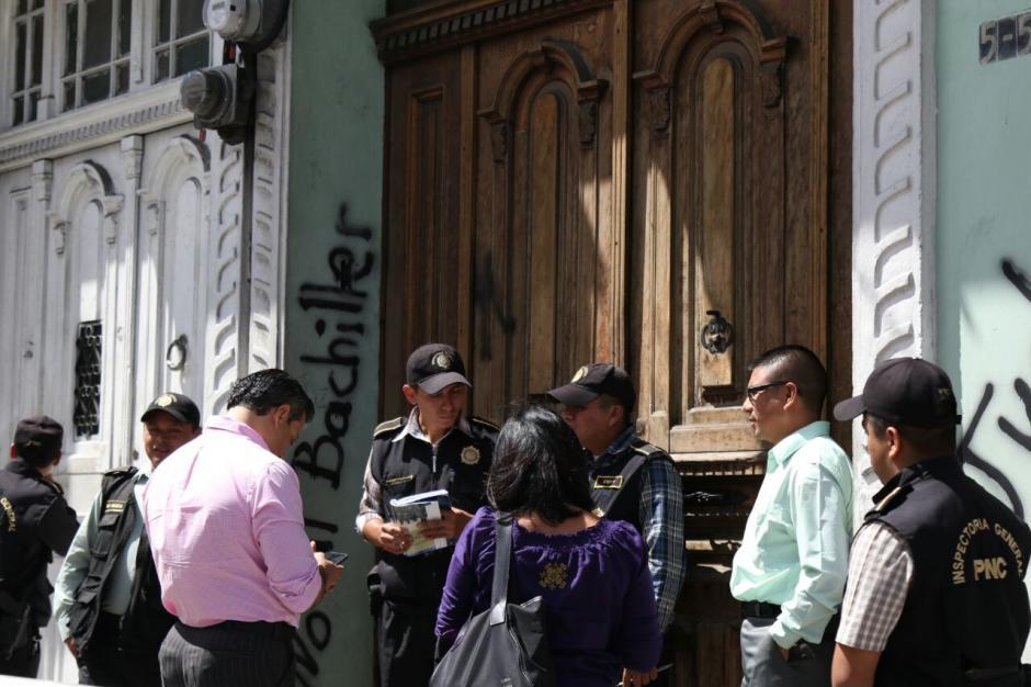 Se presume que las autoridades buscan secuestrar documentos relacionados a Joviel Acevedo. (Foto: Alejandro Balán/Soy502)