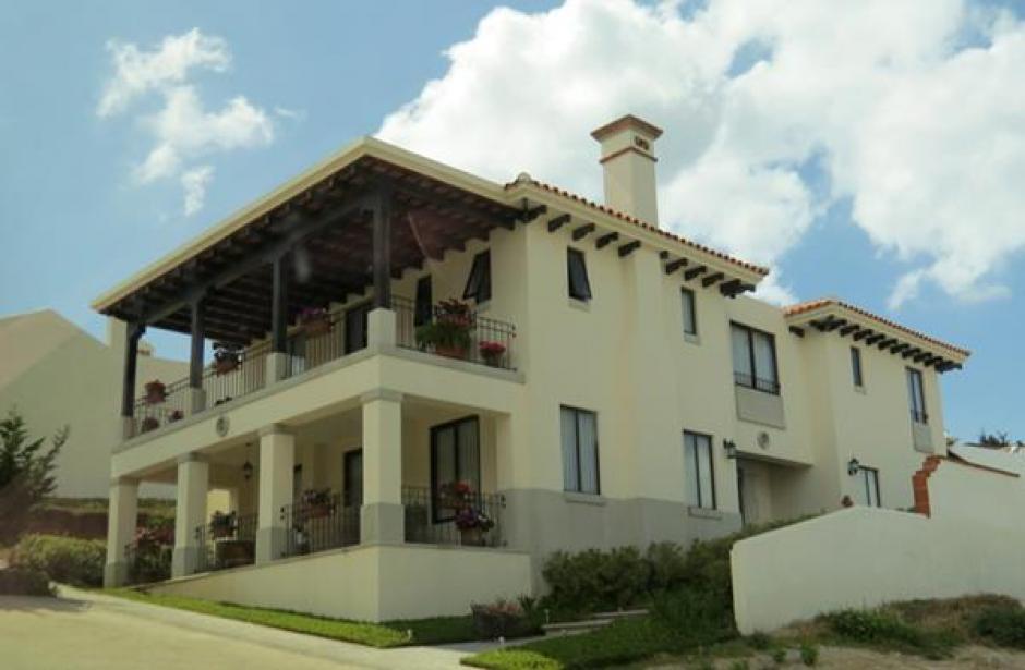 Vista de la casa de Jisela Reinoso y que según el MP habría adquirido con dinero ilícito. (Foto: Archivo)