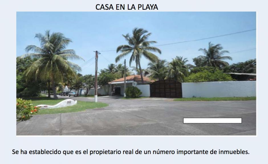 Uno de los inmuebles de Lima se ubica en Costa Linda. (Foto: CICIG)