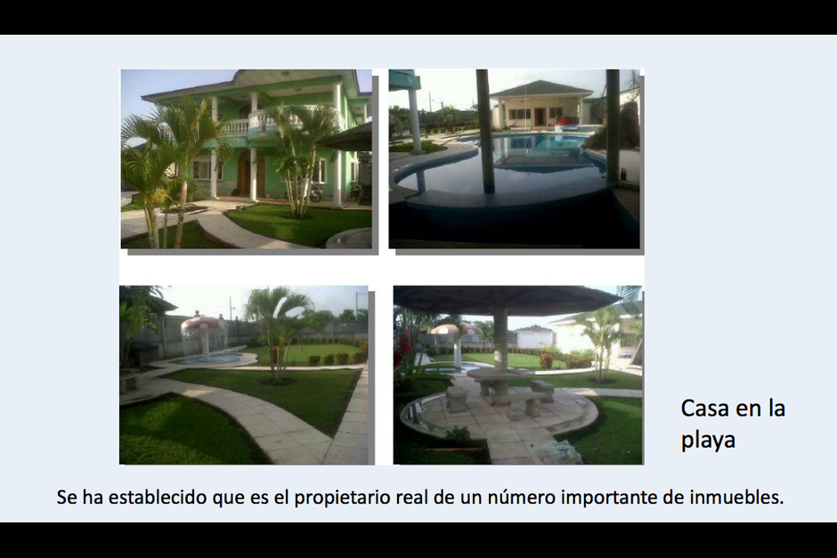 Otra de las propiedades del capitán era una casa ubicada en Torremolinos II. (Foto: CICIG)