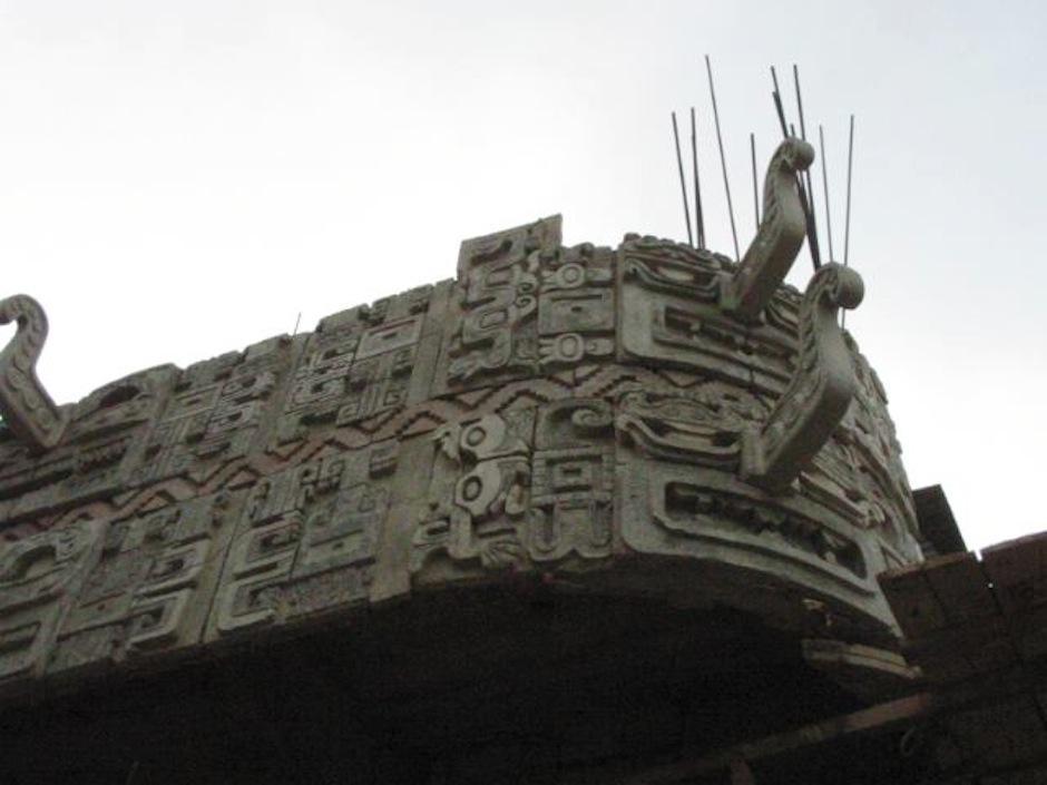 El artista y VJ, Sine, tomó el edifico para revitalizarlo de nuevo. (Foto: B'ahlam kan Nah)