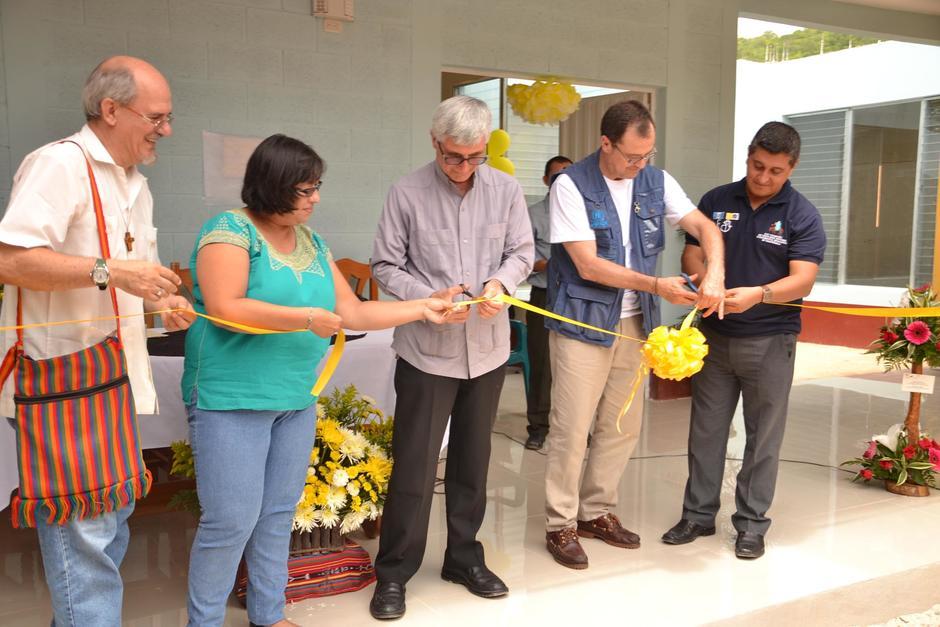 Una Casa del Migrante fue inaugurada en Santa Elena, Flores, Petén. (Foto: Anner Palma/Nuestro Diario)