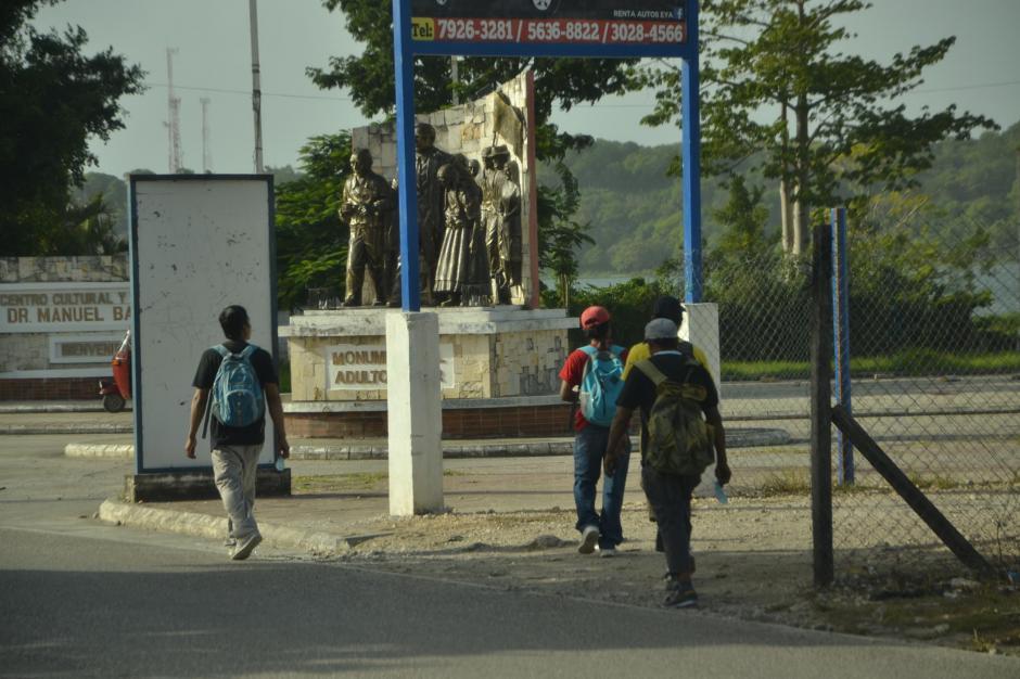 Como referencia, la Casa del Migrante se encuentra por el monumento al Adulto Mayor. (Foto: Anner Palma/Nuestro Diario)
