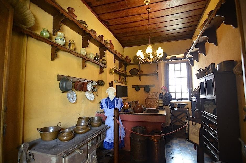 La cocina replica la forma de preparar los alimentos. (Foto: Selene Mejía/Soy502)