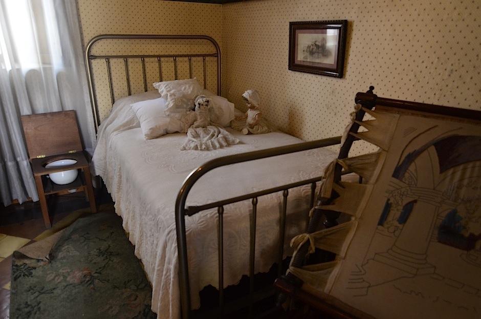 El cuarto de las niñas tiene piezas únicas. (Foto: Selene Mejía/Soy502)