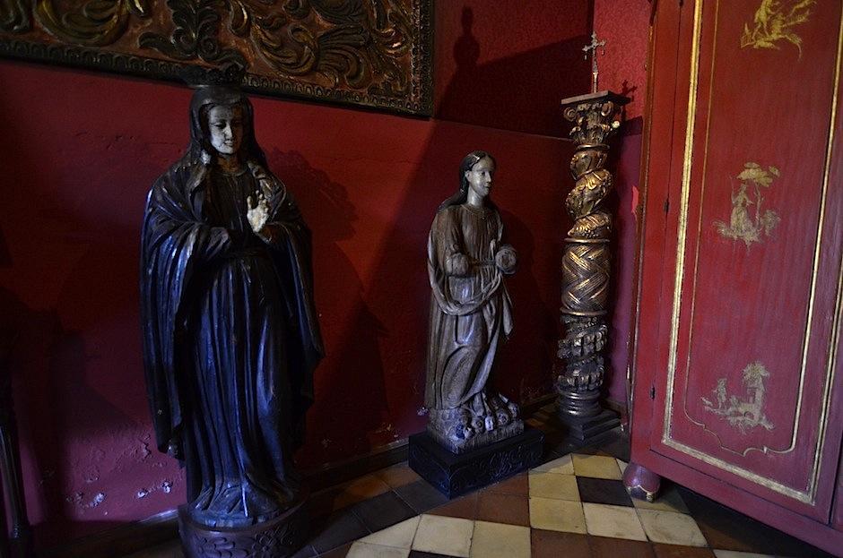 En el oratorio hay piezas de la época colonial. (Foto: Selene Mejía/Soy502)