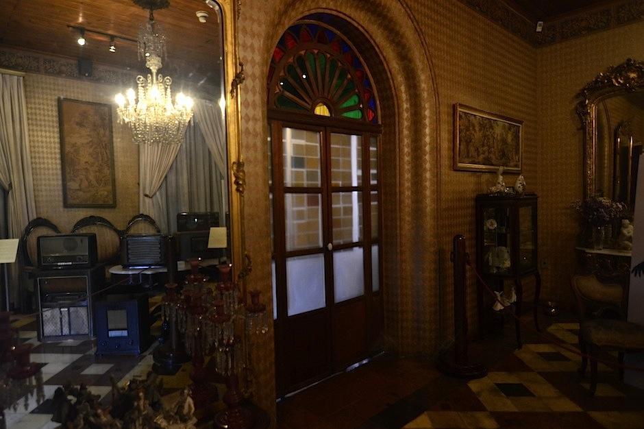 La sala principal está llena de detalles. (Foto: Selene Mejía/soy502)