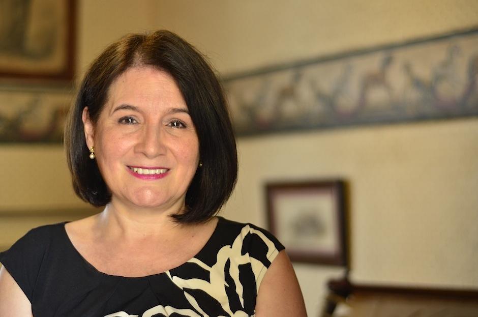 Beatriz Quevedo es la directora ejecutiva de Casa MIMA. (Foto: Selene Mejía/Soy502)