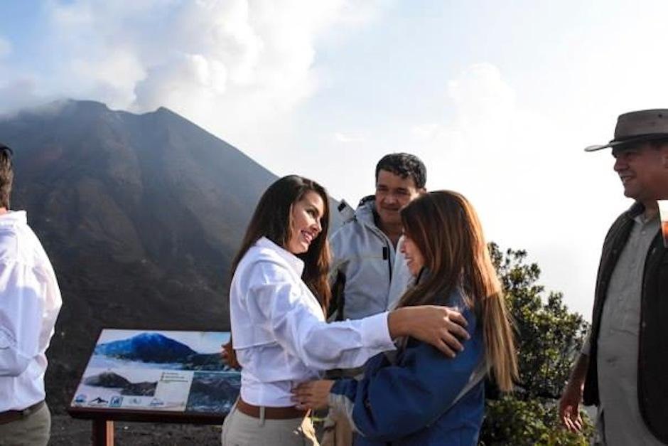 Cada uno de los invitados subió el volcán a su ritmo. (Foto: oficial)
