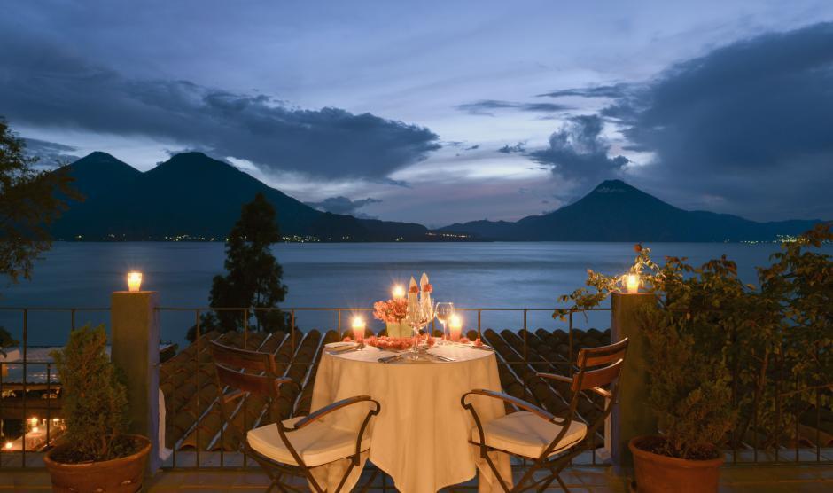 El hotel tiene vistas espectaculares, uno de los detalles que encantó a las personas que votaron por este recinto guatemalteco. (Foto: Casa Palopó)