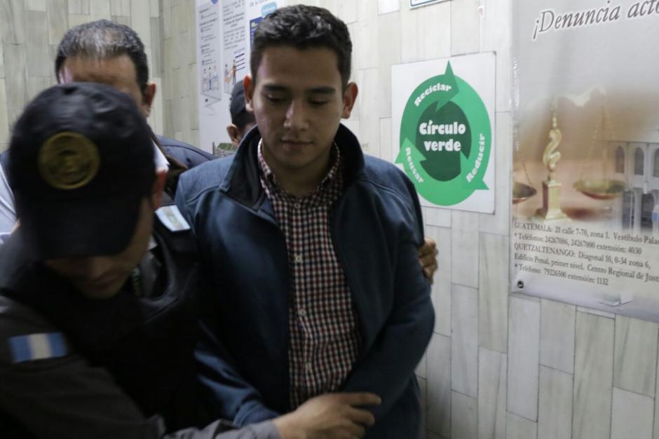 El hijo del presidente Jimmy Morales tiene arresto domiciliar. (Foto: Alejandro Balan/Soy502)