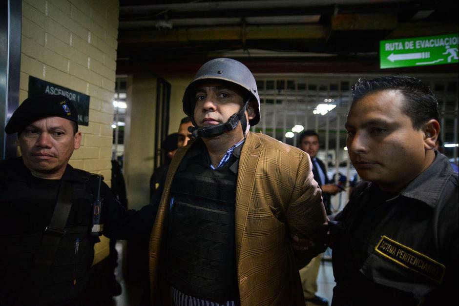 Juan Carlos Monzón, quien se perfila como colaborador eficaz, prometió más información sobre el caso. (Foto: Wilder López/Soy502)