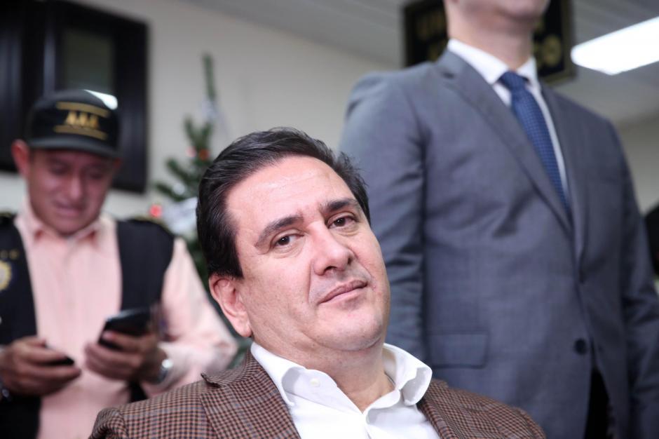 Alejos se entregó a la justicia el 28 de diciembre pasado. (Foto: Archivo/Soy502)