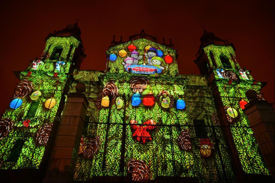 Este viernes se desarrollará el Mapping en la Catedral Metropolitana. (Foto: Archivo/Soy502)