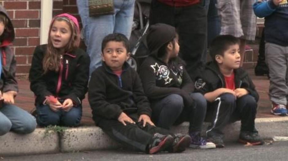 Los niños, hijos de guatemaltecos, son ya la mayoría de la población de Georgetown. (Foto: AFP)