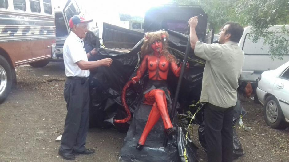La Diabla volverá a ser exhibida en el barrio La Concepción. (Foto: Pablo Solís/Nuestro Diario)