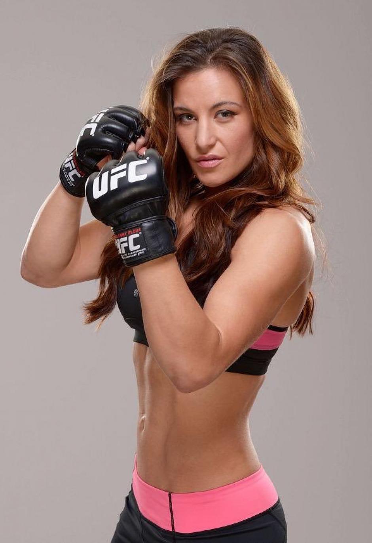 Miesha Tate es toda una celebridad en el MMA. (Foto. UFC)