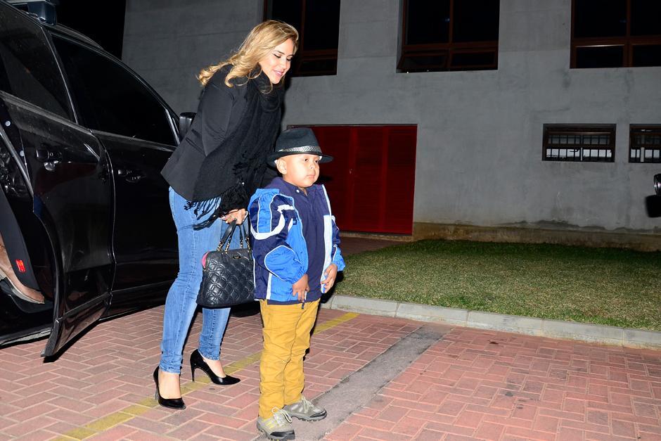 El pequeño Dieguito de 5 años fue el invitado especial de la noche. (Stanley Herrarte/Nuestro Diario)