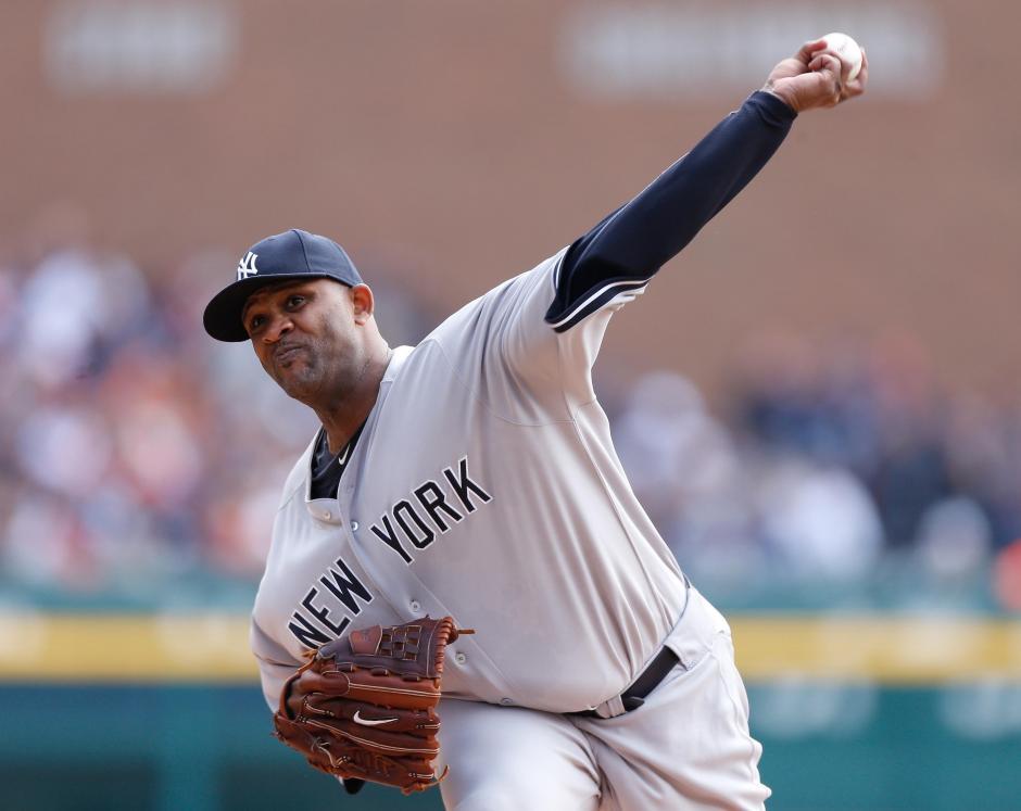 C. C. Sabathia es uno de los lanzadores de los Yankees de Nueva York
