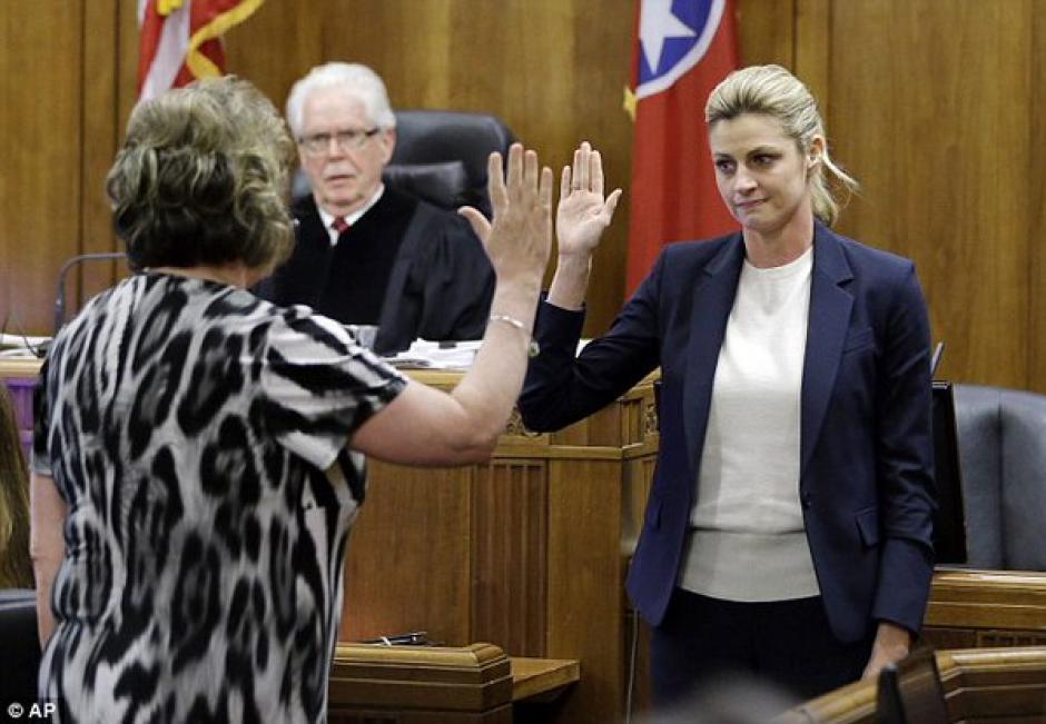 Erin Andrews, testificó contra su acosador. (Foto: FoxNews)